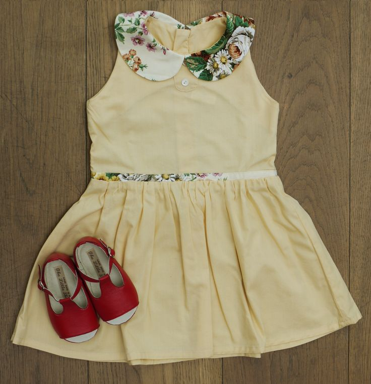 Limited Edition Vintage Dress, £60 BubbleChops Exclusive Bobby Shoes, £60