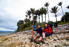 Walkers on the Heaphy Track.