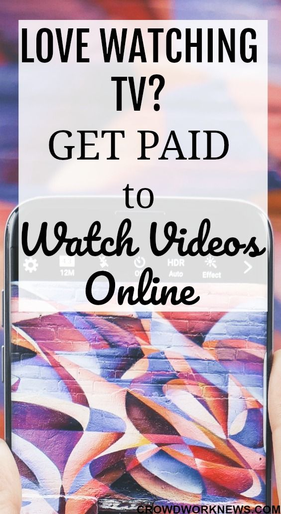 Do you love watching TV? Why not turn this fun activity into some extra cash earner! Just follow the tips in this post to start earning some extra cash just by watching videos online. #extraincome #money