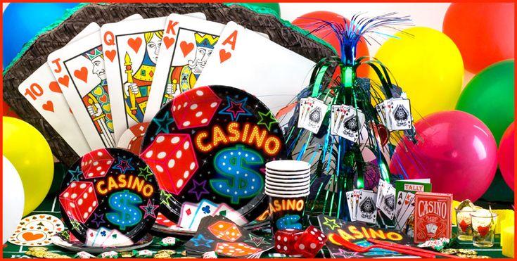 Sorprende con una fiesta Casino colorida y divertida. #FiestaCasino #FiestasTematicas