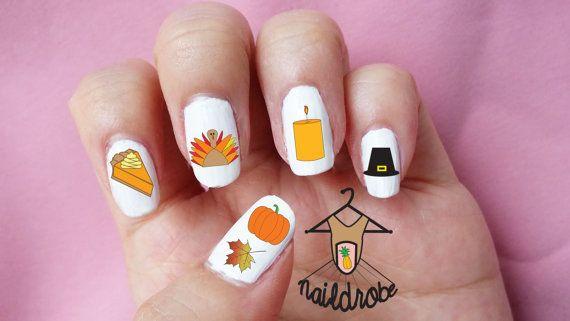 23 best Fall/Thanksgiving Nail Art images on Pinterest ...