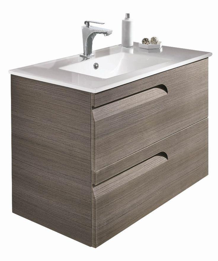 Images On Bathroom Fittings Bathroom Furniture Bathroom Suites Vitale Fossil Grey cm Wall Hung Vanity Unit