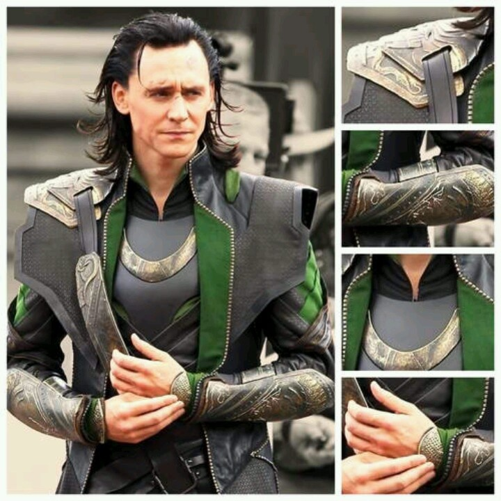 Tom Hiddleston  as Loki (Loki costume appreciation post via LuvLoki.tumblr.com)