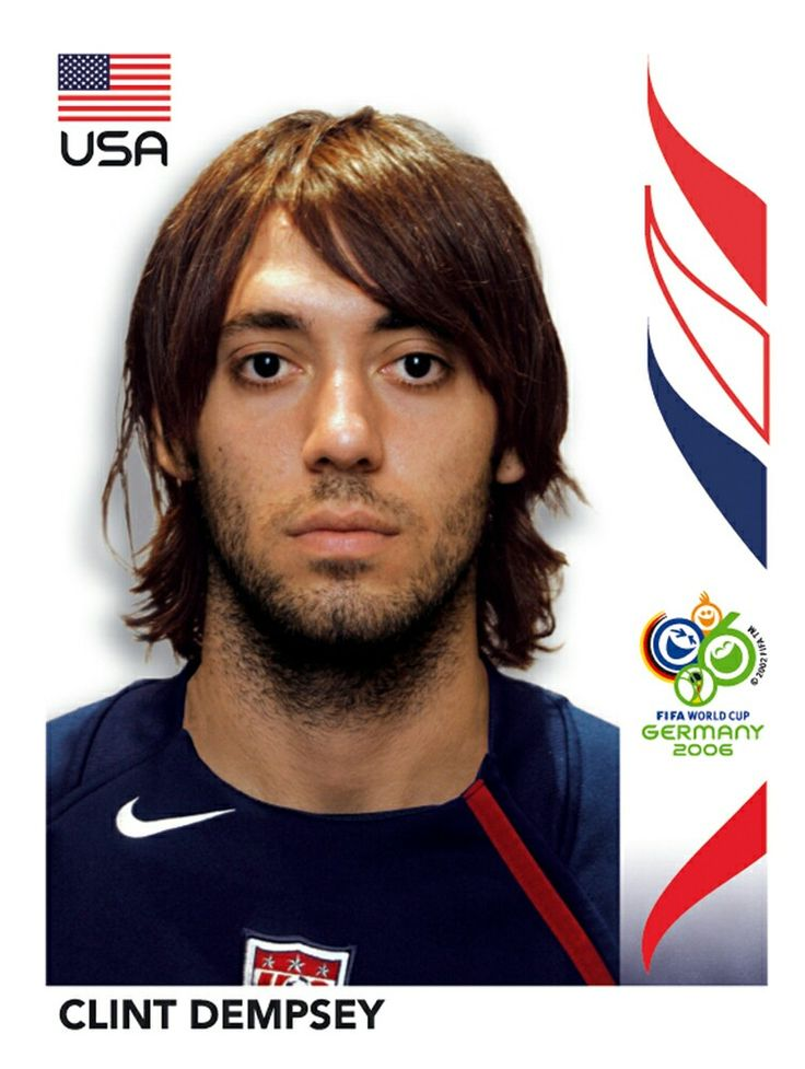 350 Clint Dempsey - USA - FIFA World Cup Germany 2006