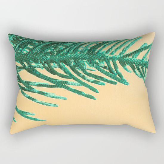 Emerald Pine Rectangular Pillow