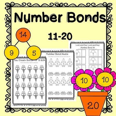 number bonds to 10 worksheet pdf