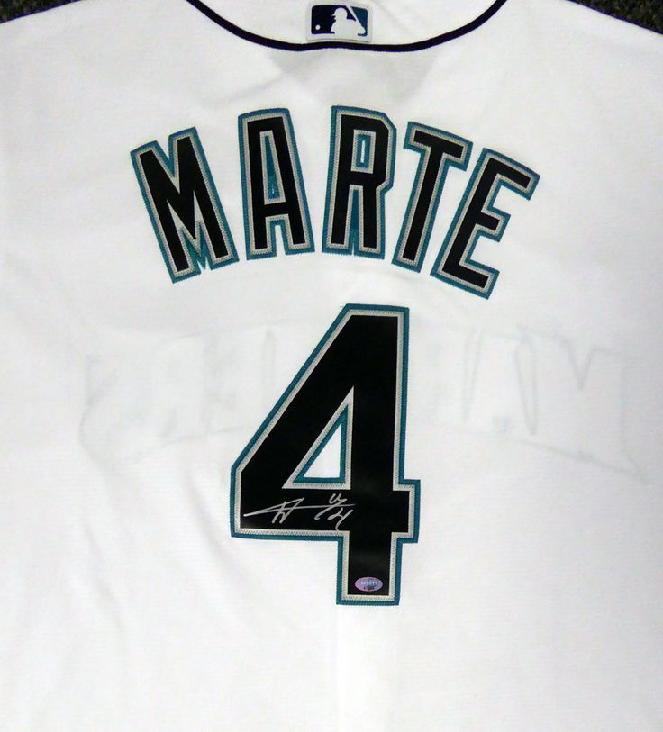 Seattle Mariners Ketel Marte Autographed White Majestic Cool Base Jersey Size XL