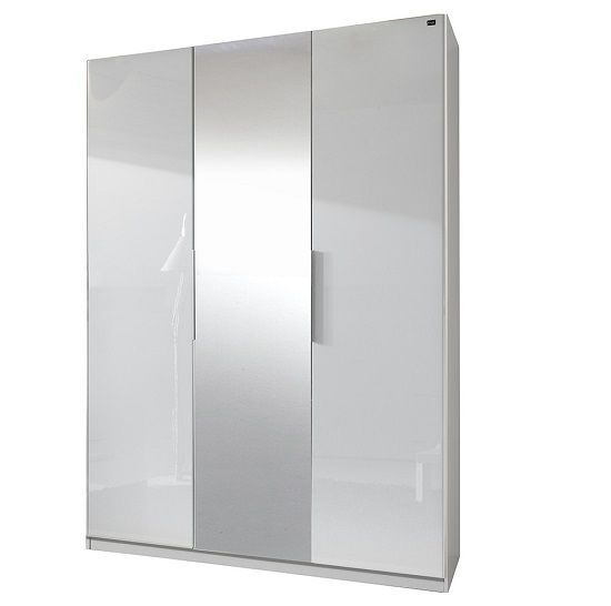 With a very stylish and #moderndesign, the Add on D white gloss #wardrobe comes with 2 #doors and 1 #mirror. It is the highest standard furniture from a respected manufacturer.