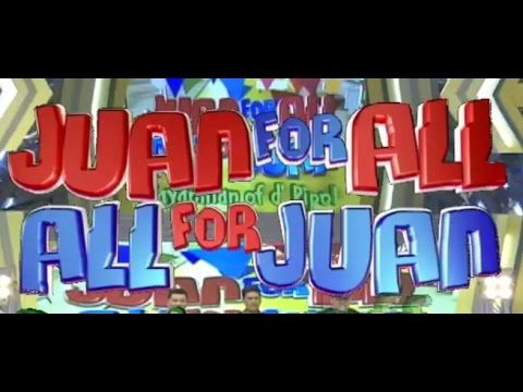 #Eat Bulaga  #Sugod Bahay (Juan For All-All For Juan) #ALDUBHappy1st Oct...