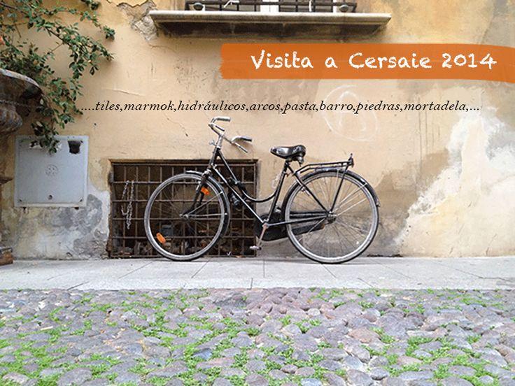Tiles,barros,mármoles,mortadela,pasta …Cersaie.