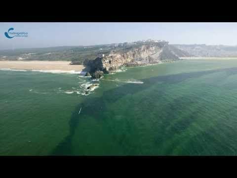 Onda da Nazaré, como se forma, Portugal