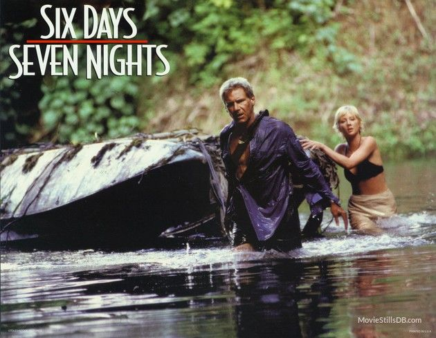 Six Days Seven Nights - Lobby card with Harrison Ford & Anne Heche