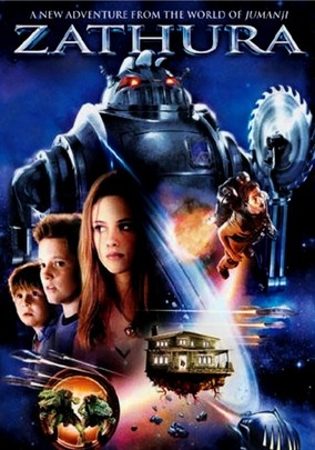 Zathura (2005) After discovering a mysterious game in the basement of their house, two pint-sized brothers are sent flying into space, where they must finish the game by reaching the planet Zathura -- or be trapped in galactic limbo forever.