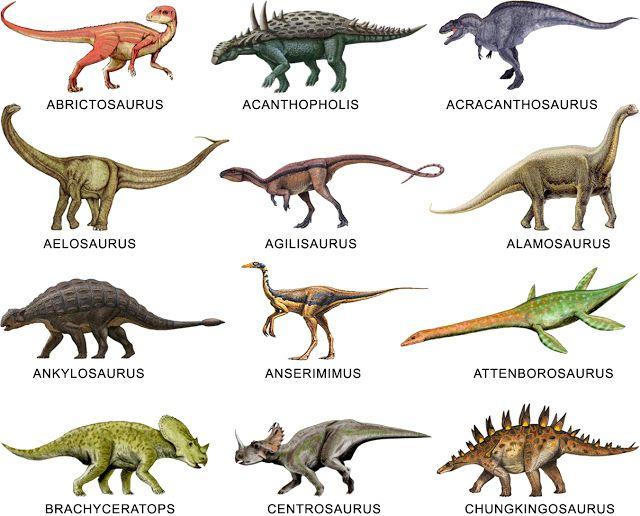 galería de dinosaurios