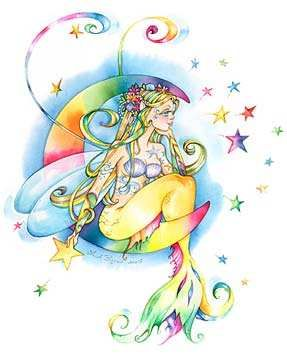 Image detail for -Moon Star Fairy Tattoos