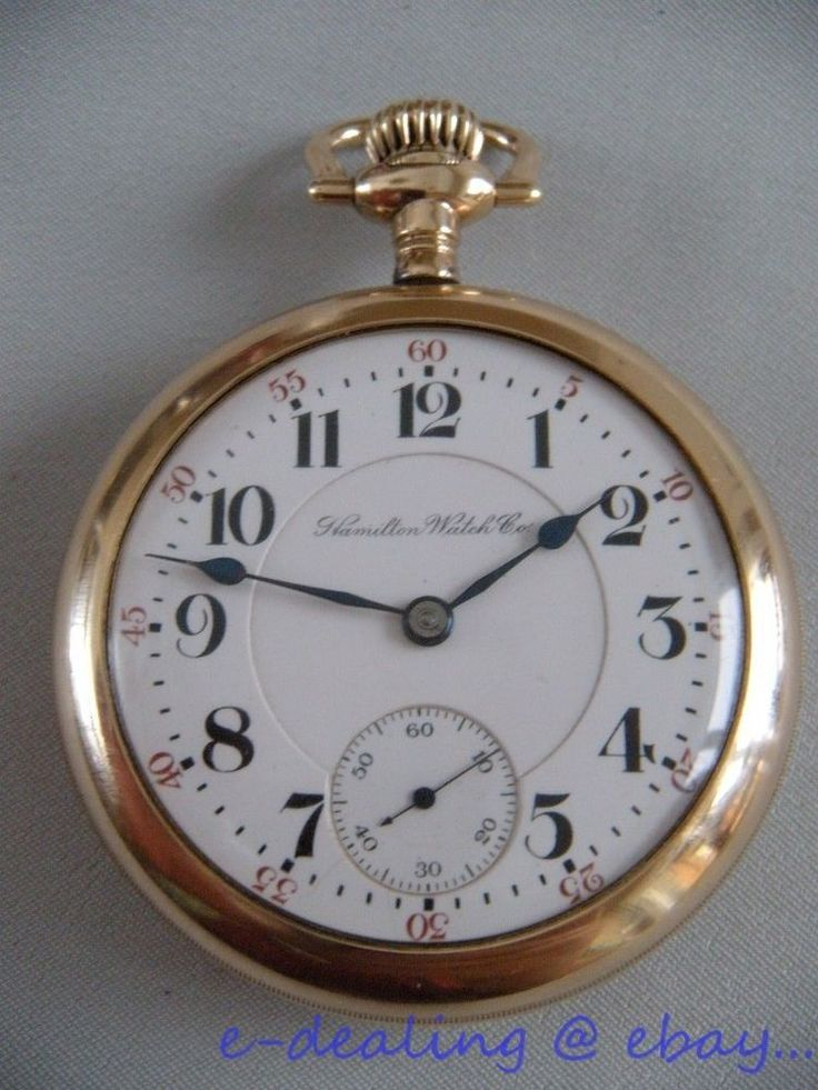 Antique Hamilton 940 railroad pocket watch