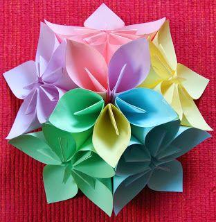 laCHIocciolA: ancora fiori di carta...