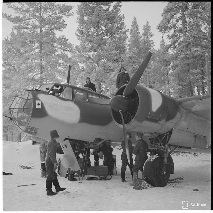 Dornier Do 17Z of the Finnish Air Force.