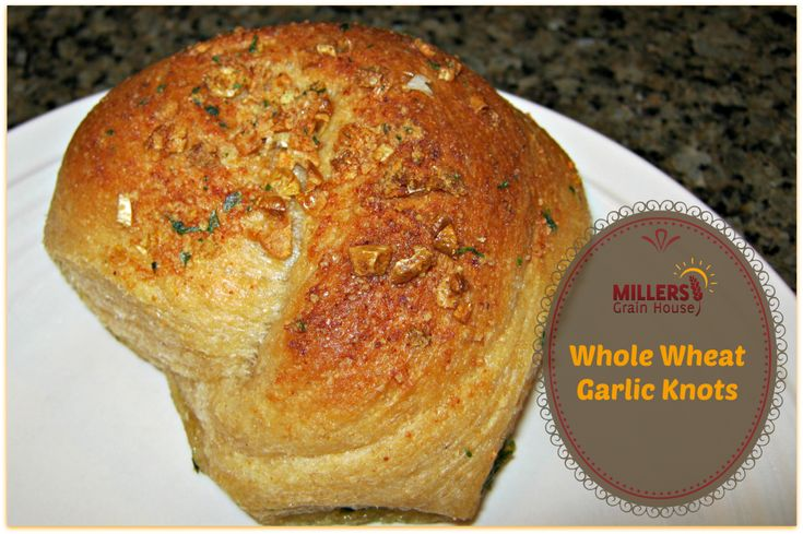 Whole Wheat Garlic Knots