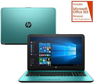 HP 17 Laptop in Fashion Colors AMD A12, 12GB, 2TB HD, Support & MS Office 365