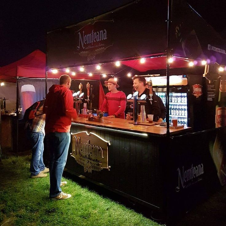 Custom beer stand made to order by BizzOnWheels