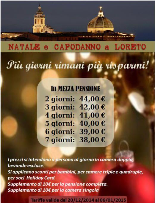 Vi aspettiamo a Loreto per trascorrere un Natale con tutta la famiglia, pensiamo tutti noi per voi, sala giochi per bambini, sala per giocare a carte, panettone, torrone, vino, spumante ecc....vi aspettiamo  www.loretohotel.it
