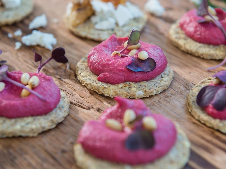 Beetroot and horseradish hummus | Platter inspiration