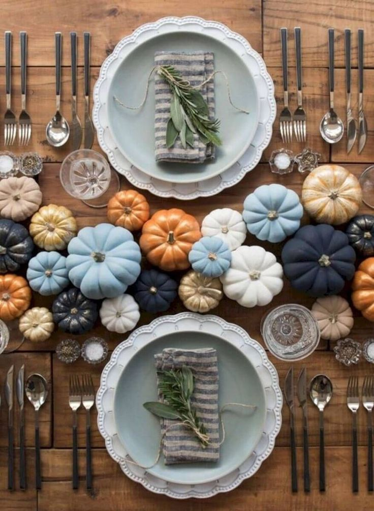 37 Simple DIY Thanksgiving Centerpiece Ideas to Decoration Up Your Dinner Table