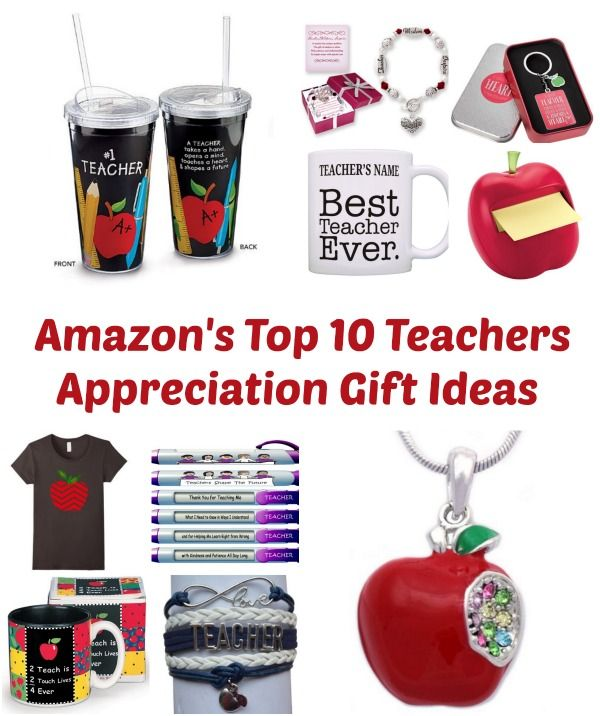 Amazon's Top 10 Teachers Appreciation Gift Ideas