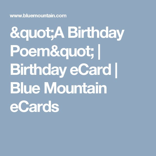 Free Love Birthday Ecards For Her: 1000+ Ideas About Birthday Poems On Pinterest