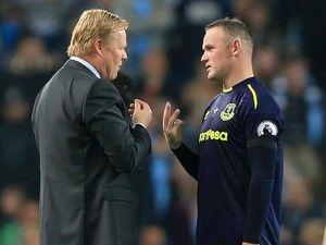 Report: Wayne Rooney to enter crisis talks with Everton boss Ronald Koeman