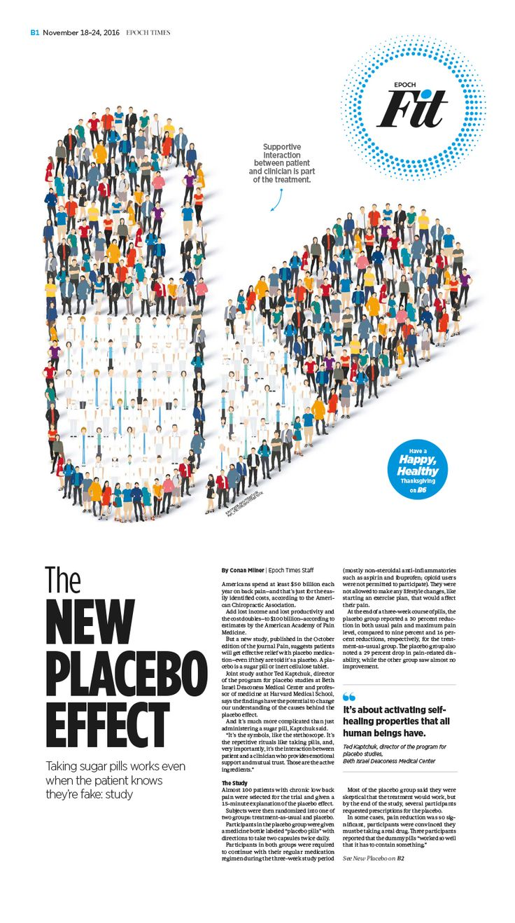 The New Placebo Effect|Epoch Times #Health #newspaper #editorialdesign