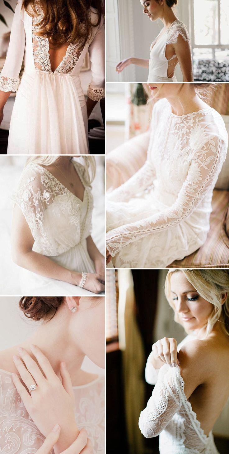 Lace Wedding Dresses   Wedding Inspiration   Wedding Ideas