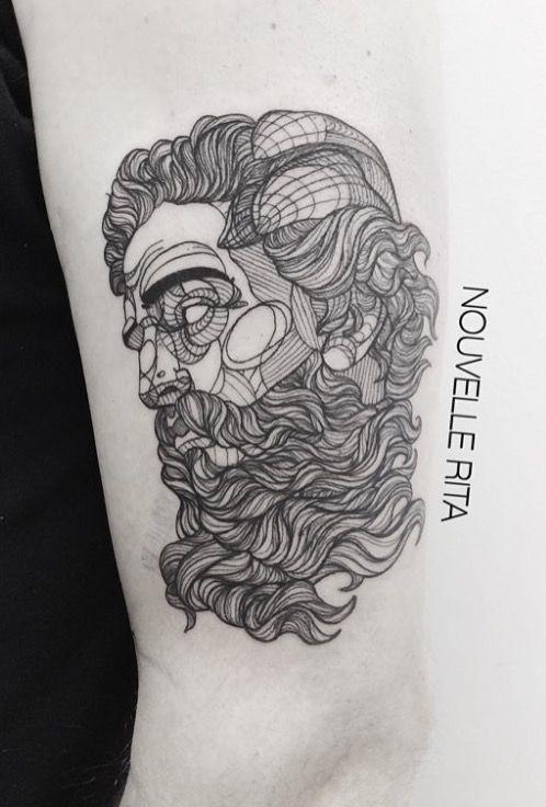 Nouvelle Rita Poseidon tattoo