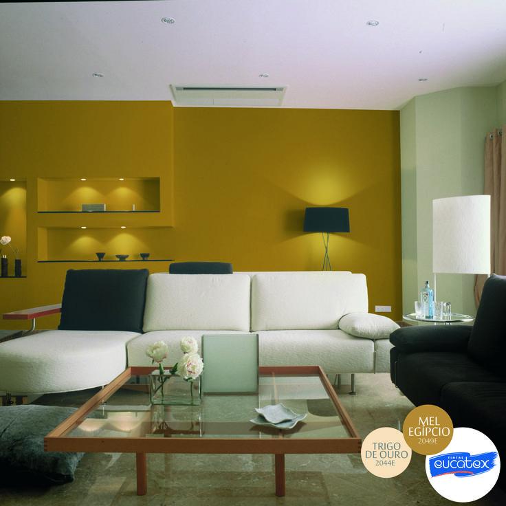 inspira o de decora o para sala nome das cores mel. Black Bedroom Furniture Sets. Home Design Ideas
