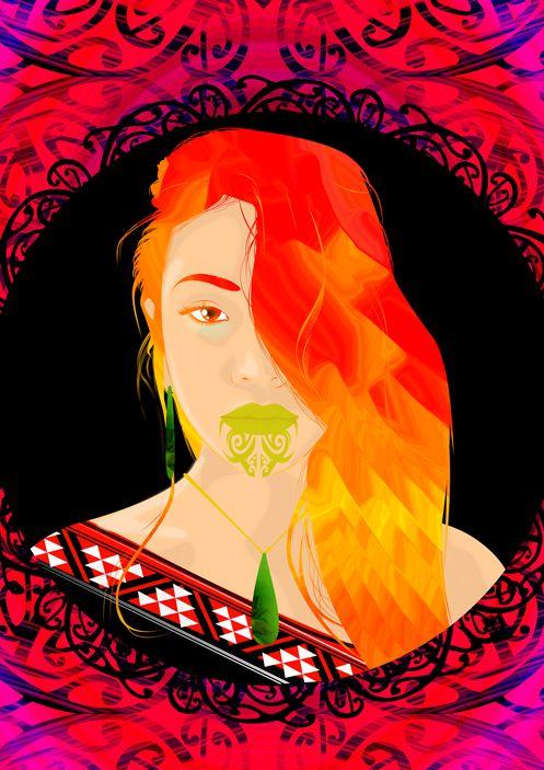 Matariki / Seven Sisters / Maori / Mahuika  http://www.onesian.com