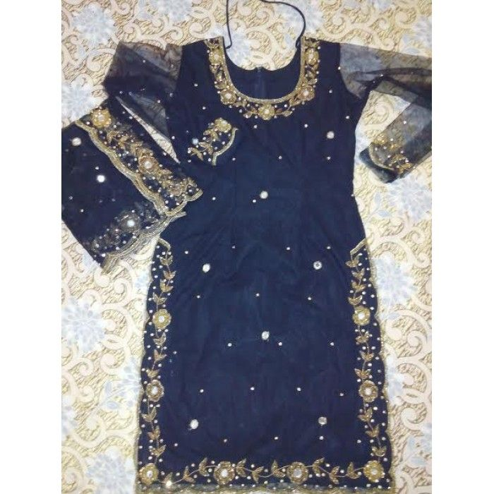 Handwork Patiala ( with Gold embroidary )