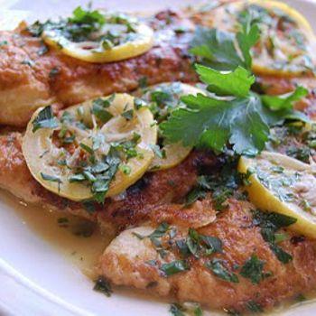 Chicken Francese | Low fat yummies | Pinterest