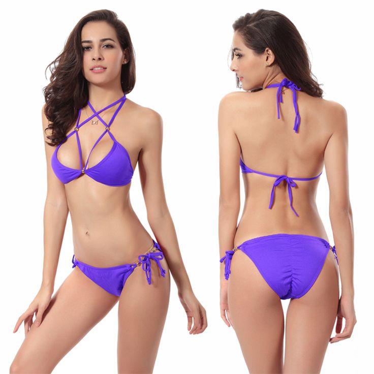 $22.98 (Buy here: https://alitems.com/g/1e8d114494ebda23ff8b16525dc3e8/?i=5&ulp=https%3A%2F%2Fwww.aliexpress.com%2Fitem%2FWomen-Sexy-Bikini-Set-Hot-Sale-Strappy-Swimwear-Girl-Biquini-Beachwear-Female-Low-Waist-Swimsuit-Push%2F32688890861.html ) Women Sexy Bikini Set Hot Sale Strappy Swimwear Girl Biquini Beachwear Female Low Waist Swimsuit Push Up Bathing Suit Plus Size  for just $22.98
