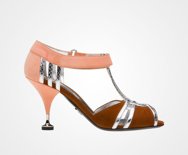 glamorous sandales coral