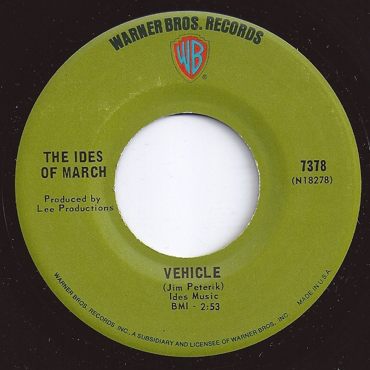 #2 on Billboard / Vehicle / Ides Of March