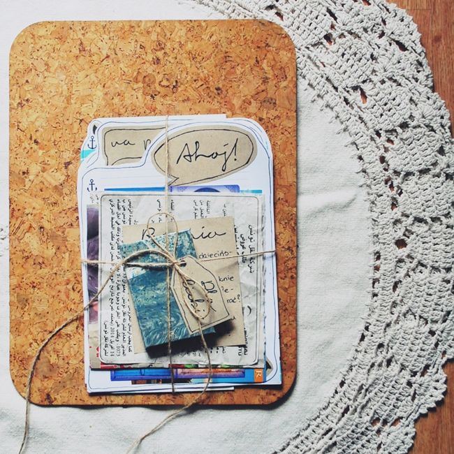 Nautical letter from holidays
