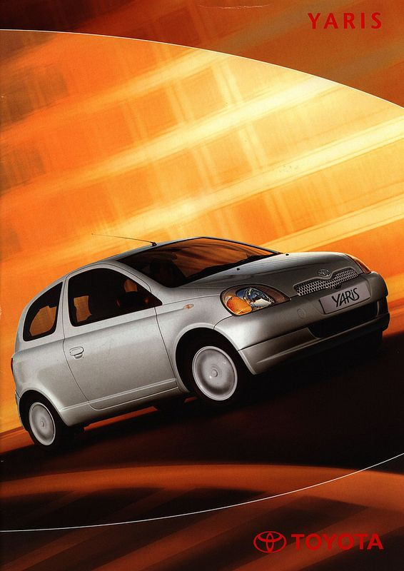 Toyota Yaris; 2001_1   auto car brochure   by worldtravellib World Travel library