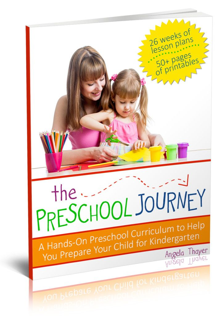 Complete Pre-School Curriculum for $9.95 - 26 lessons,160 pages, including 50 printables  #eBook