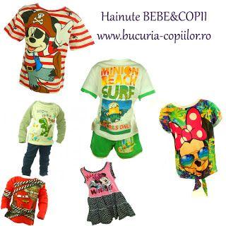 Haine pentru copii si bebelusi Bucuria Copiilor: haine copii ieftine www.bucuria-copiilor.ro