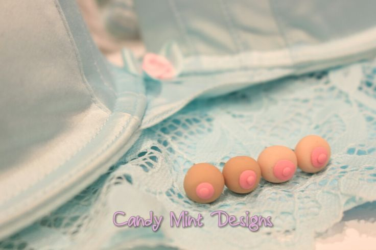 BOOB earrings. $2 donated to NBCF per pair / Candy Mint Designs