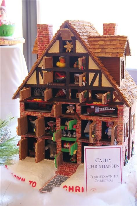 483 best Beautiful Cakes-Gingerbread Houses images on ...