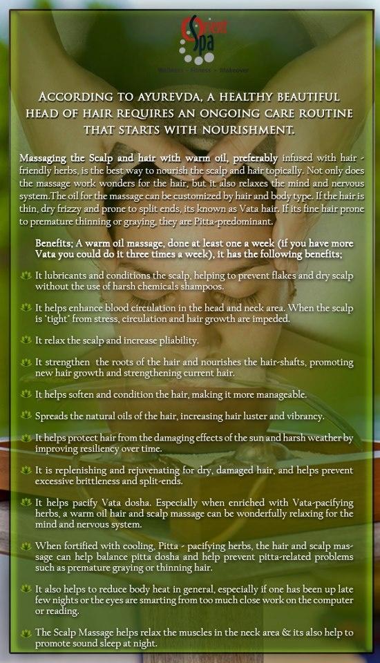 Benefits of Ayurvedic Oil Massage...@orientspa