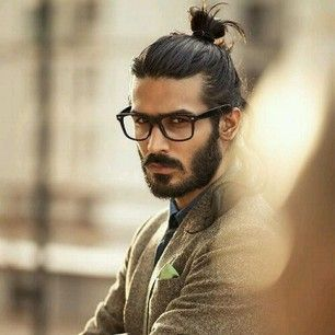 Good looking man buns.