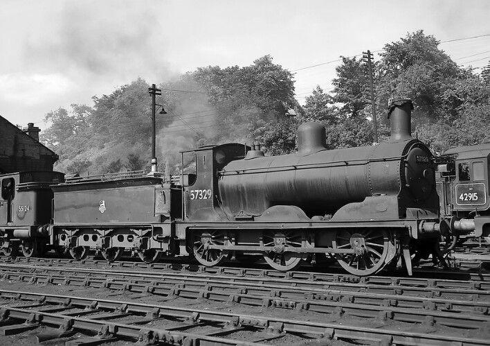BR (LMS) (Caledonian)  Drummond 294 'Jumbo' class  0-6-0